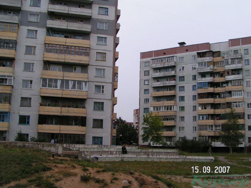 2007 год. Двор дома № 31
