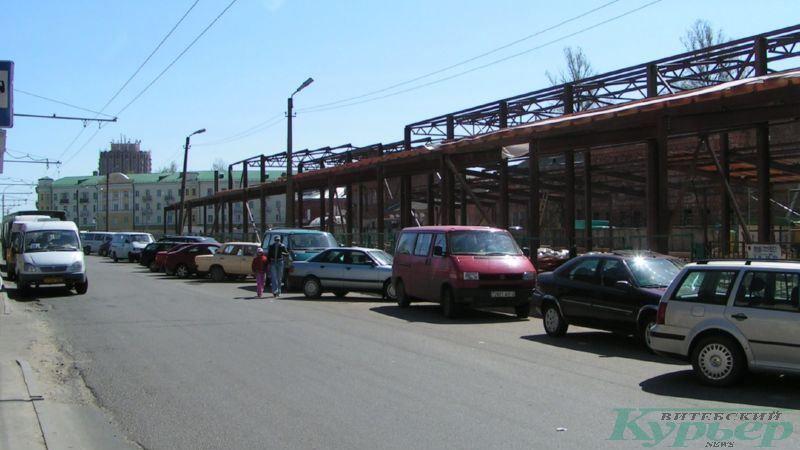 2009 год. Строительство крытого павильона на Смоленской площади