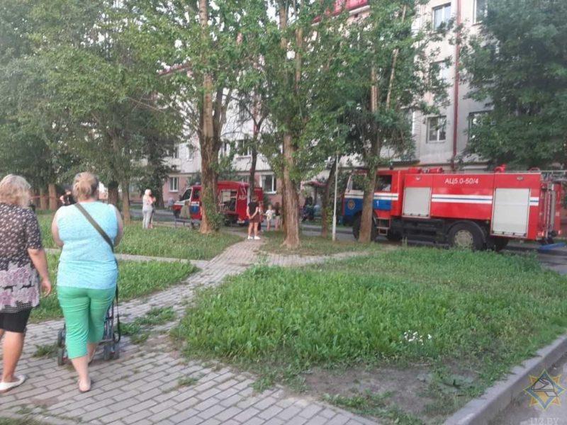 Пожар в Витебске