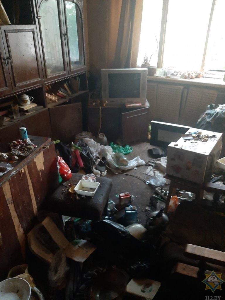 квартира после пожара Витебск