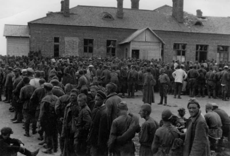 Советские военнопленные под Витебском
