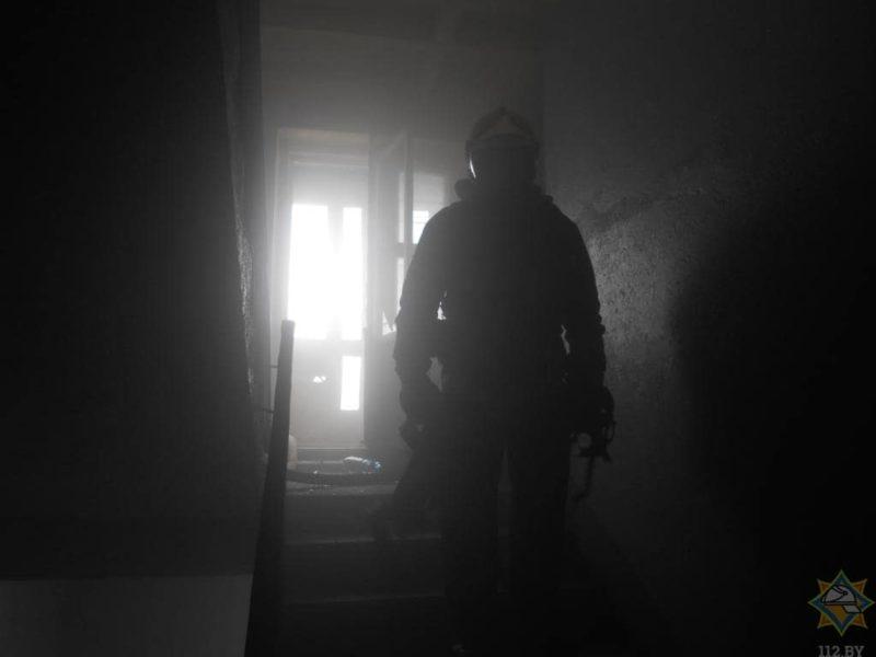 ппожарник пожар витебск