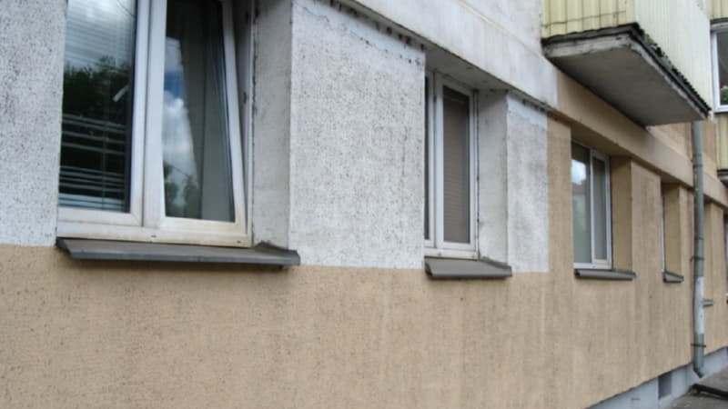 Так выглядит утепленный фасад