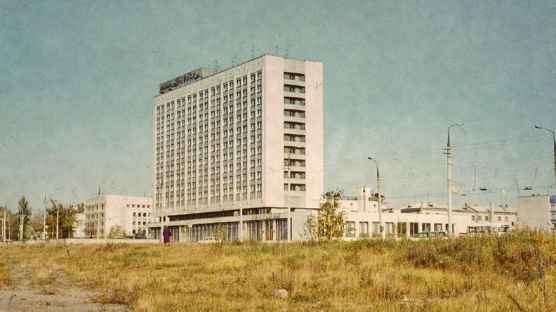 "Гостиница ""Витебск"". Вид сзади"