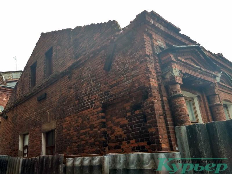 дом на улице Чехова в Витебске
