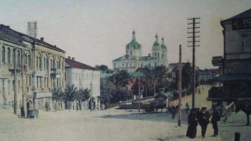 Витесбск на открытке начала ХХ века