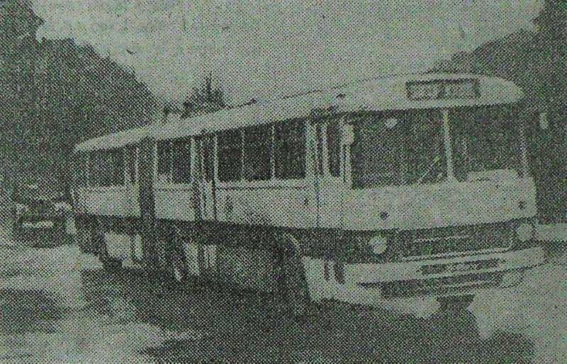 """1970 год. Бело-красный """"Икарус"""""""