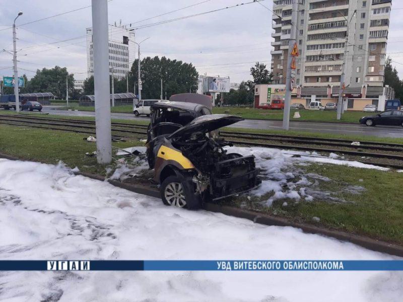 автомобиль после ДТП Витебск