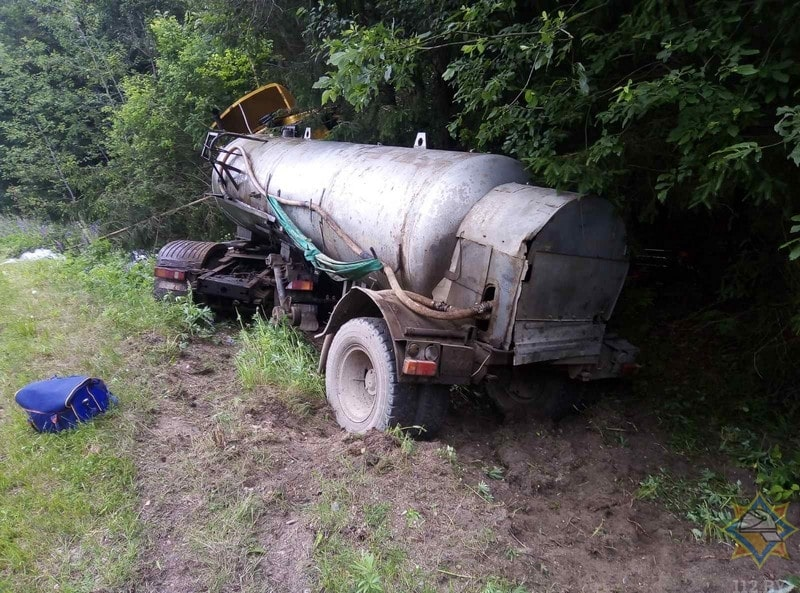 грузовик дтп