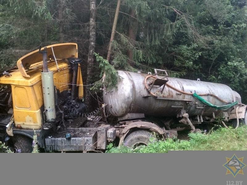 грузовик дтп витебская область