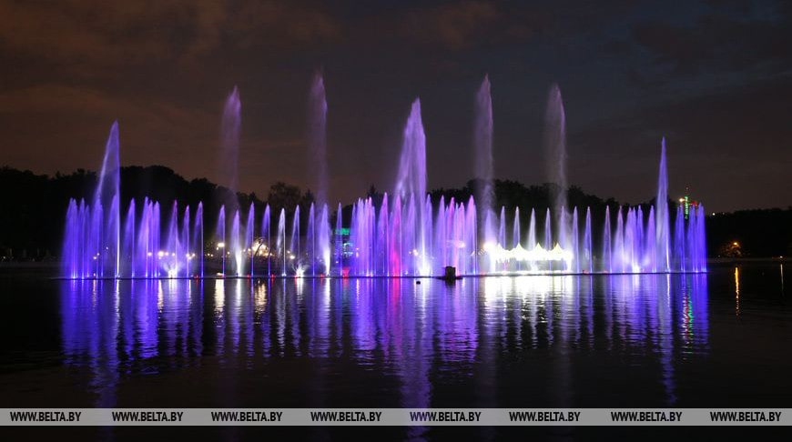 фонтан Минск