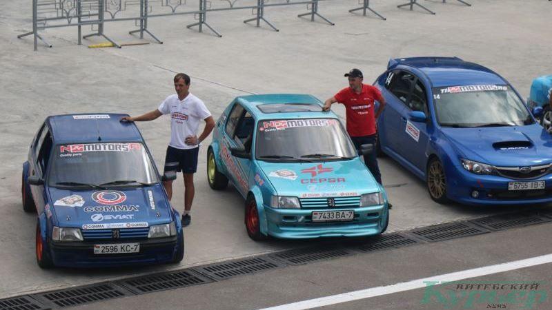 Участники автогонок
