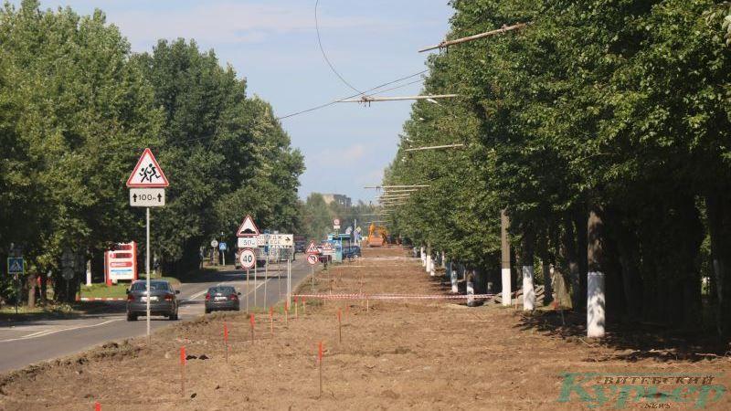 Улица Гагарина. Остатки трамвайных проводов