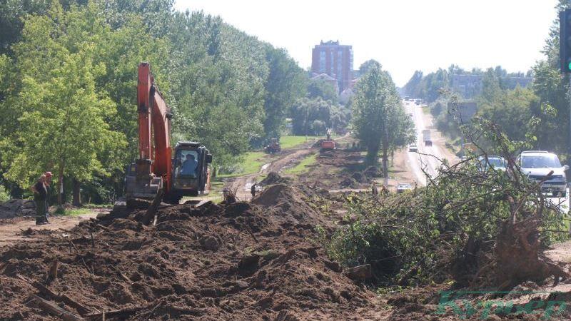 Демонтаж рельсов в Журжево