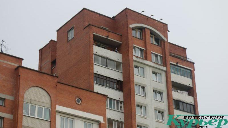 Последние этажи дома № 26 корпус 1