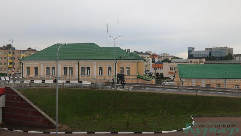 Переход у станции скорой помощи