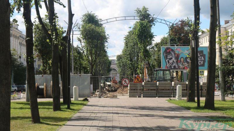 Реконструкция бульвара по улице Кирова