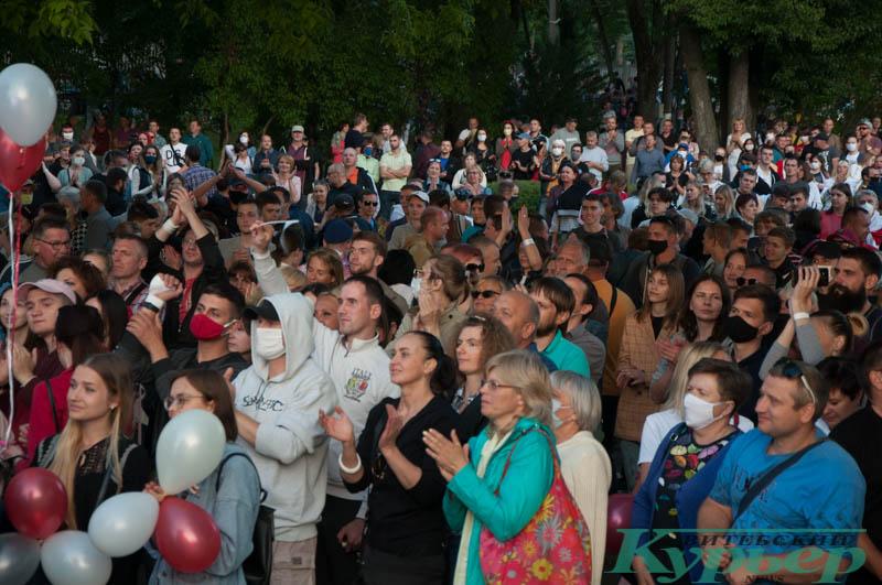 митинг светланы тихановской в витебске
