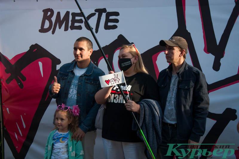 фотозона на митинге