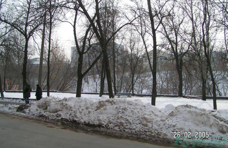 """2005 год. Сквер на месте """"Николаевского хуторка"""""""