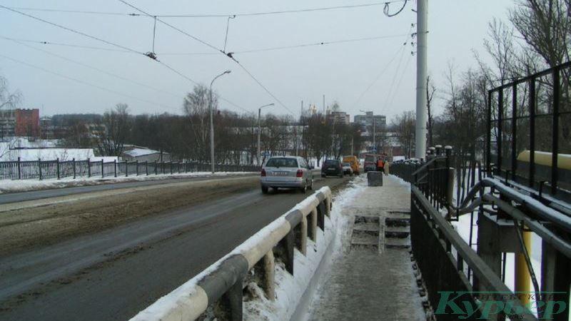 2010 год. На Полоцком путепроводе