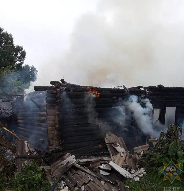 пожар витебская область лепельский район