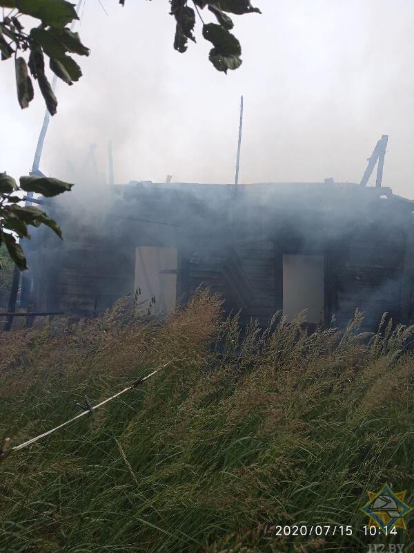 пожар витебская область