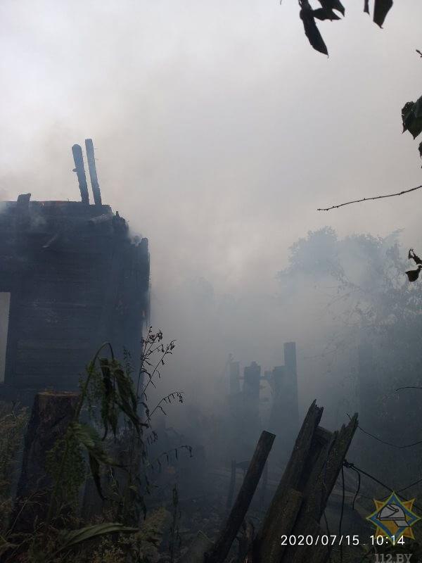 пожар лепельский район