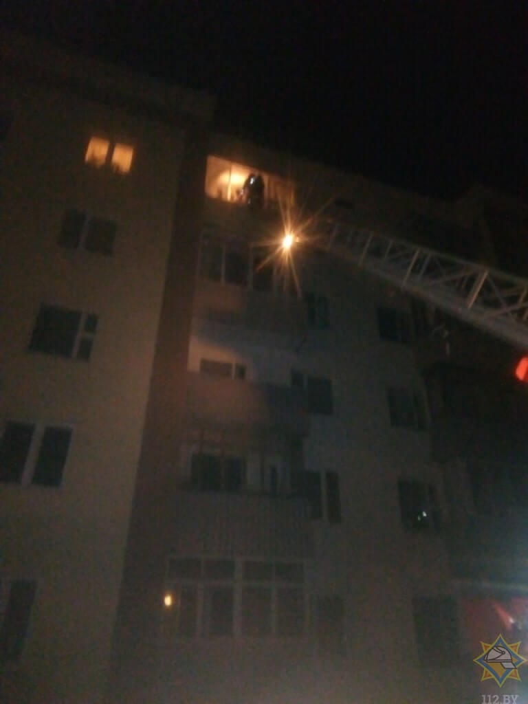 пожар в витебске по улице 1-ой Керамзитовой