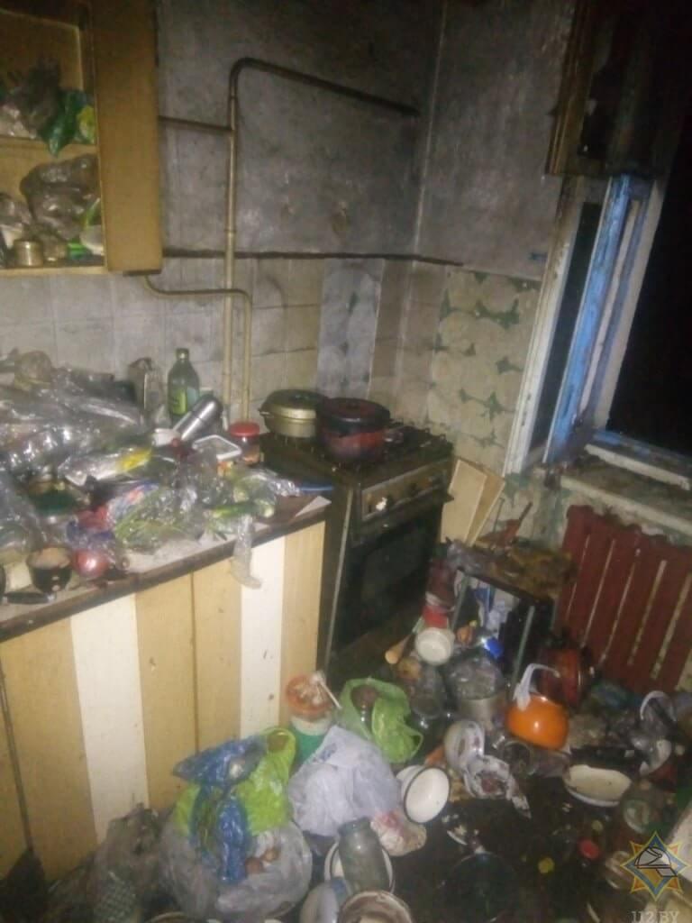 витебск пожар по улице 1-ой Керамзитовой