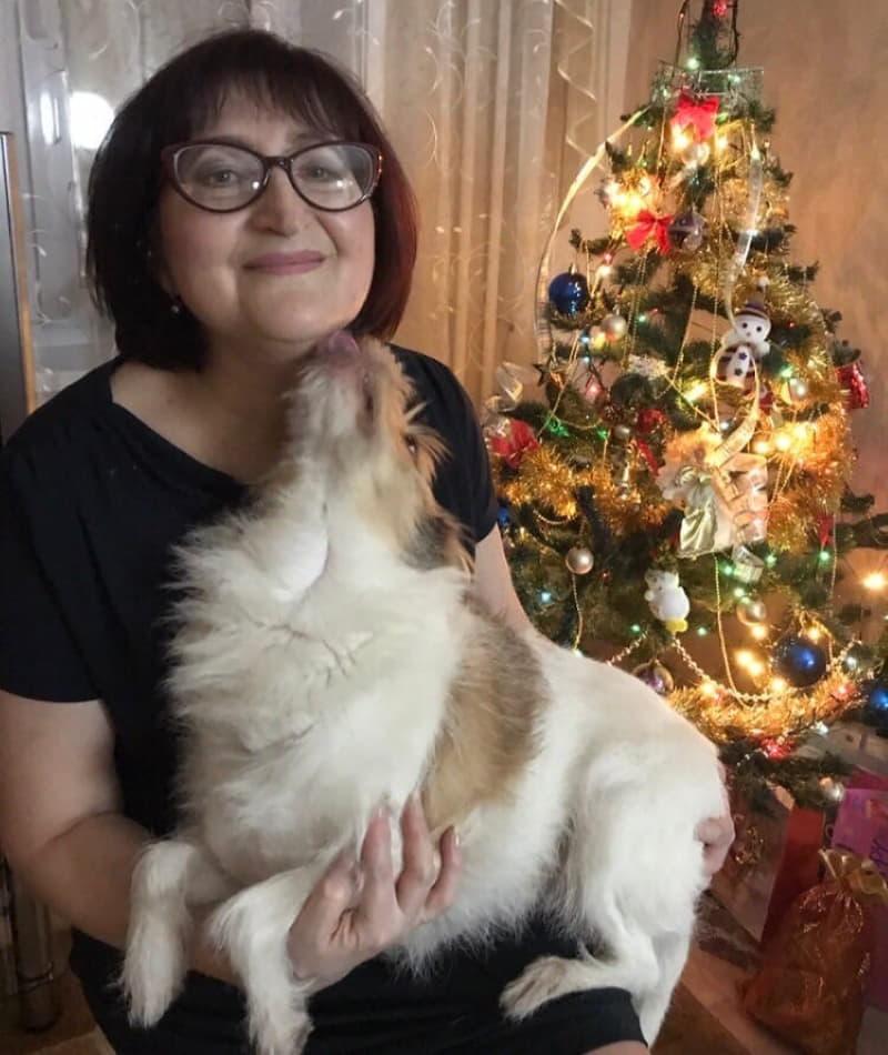 Лилу с Риммой Николаевной