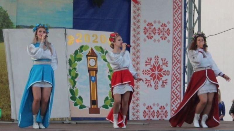 Концерт на Дне города в Дубровно