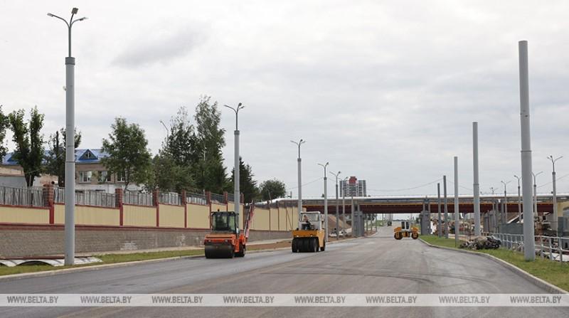 Окончание строительства магистрали от телезавода в Билево