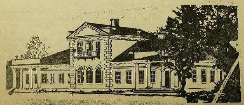 1932 год. Ореховно. Усадьба - жилой дом для колхозников