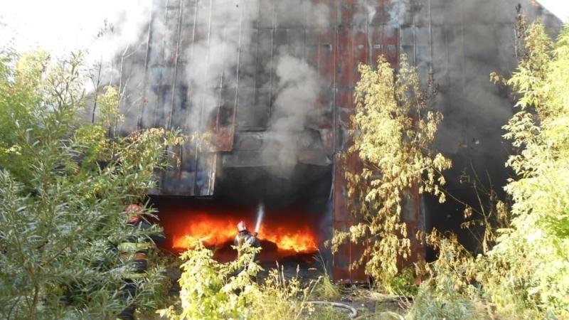 Пожар на Академика Павлова
