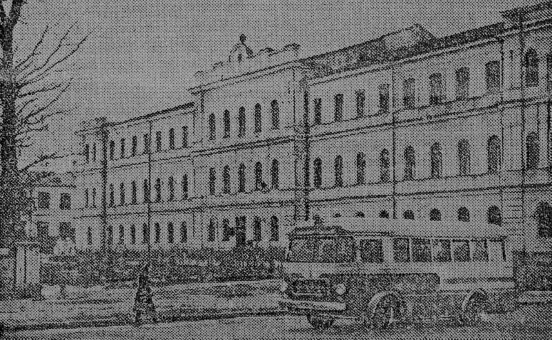 1957 год. Один из первых автобусов ЗИЛ-158