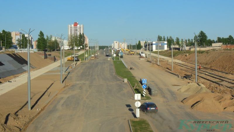 Новая магистраль от проспекта Строителей в Билево