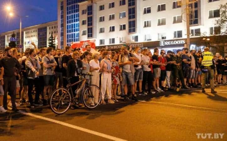 В Минске 10 августа