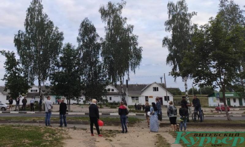 Акция солидарности в Лепеле