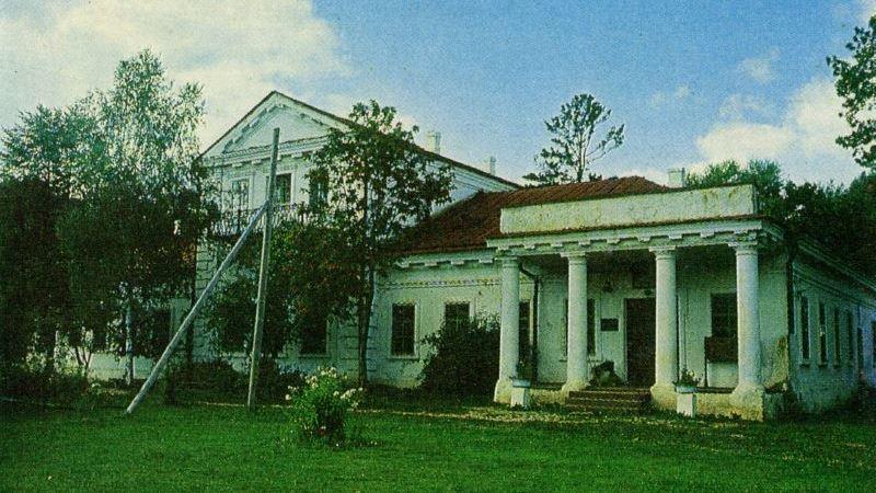 Усадьба в Ореховно в 1980-е годы