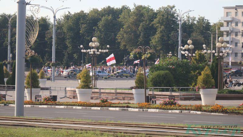 Флаги на площади Победы