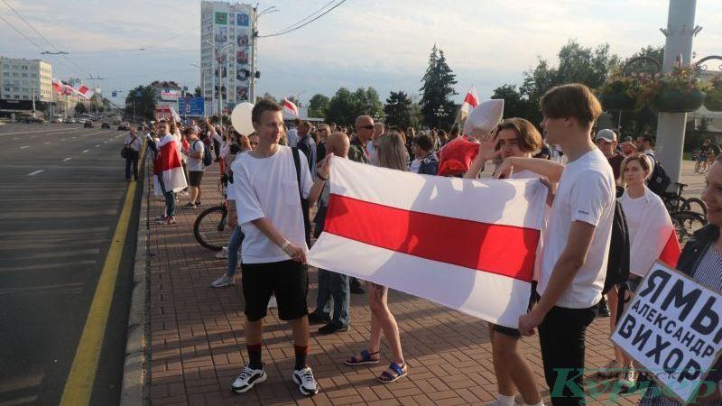 18 августа на площади Победы
