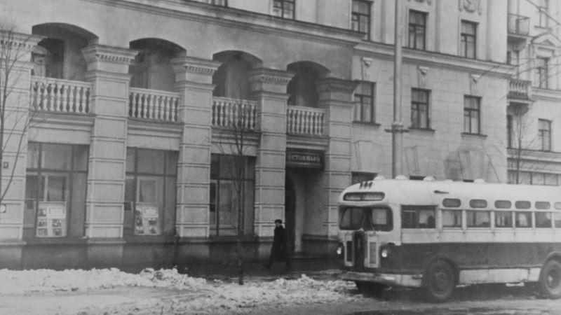1957 год. Автобус ЗИС-155