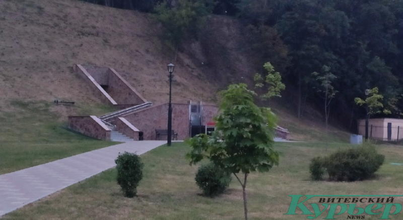 Туалет в Гомеле построили в склоне горы