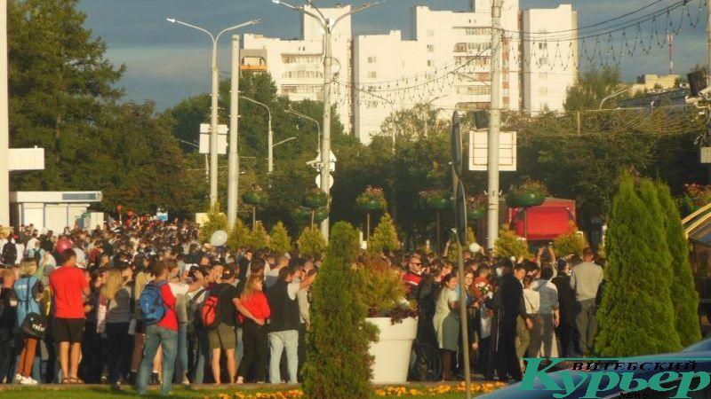 Акция 14 августа на площади Победы
