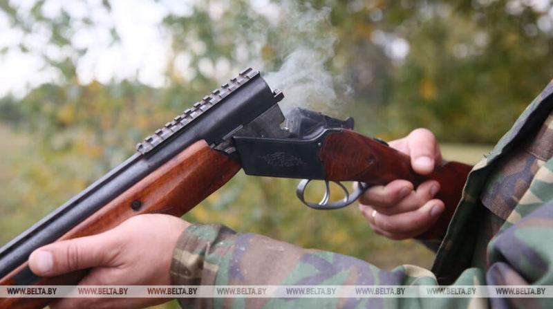 охотник с ружьём