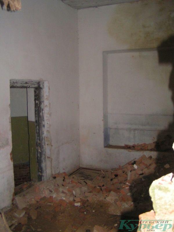 Внутри усадебного дома в Ореховно