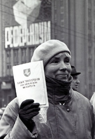 протест против референдума в беларуси