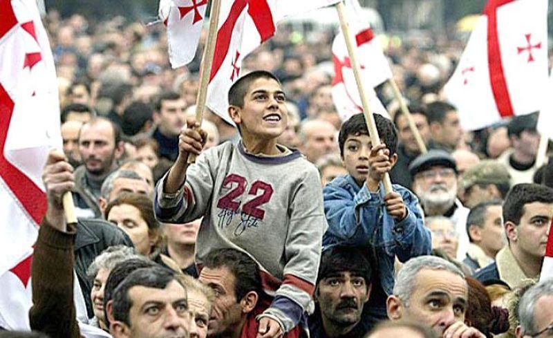 """Революция роз"" в Грузии"