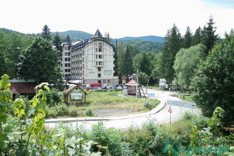 отель в городе Яремче